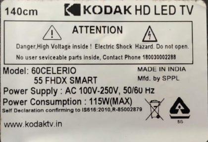 KODAK SMART LED TV